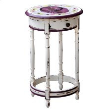 Prussian Round Side Table