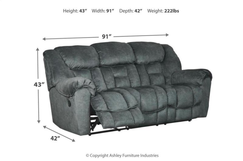 7690288 In By Ashley Furniture In Walker Mn Reclining Sofa