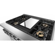 ViChrome Griddle accessory - CRG7VGR Gas and Dual Fuel Accessories