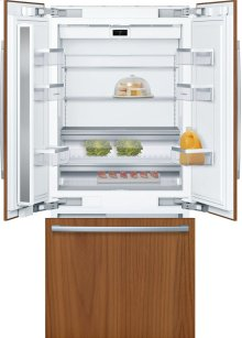 """Benchmark® Benchmark®, 36"""" Built-in French Door Refrigeratorwith Home Connect, B36IT900NP, Custom Panel"""