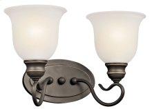 Tanglewood 2 Light Vanity Light Olde Bronze®
