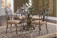 D1152-30B/41/19  Dining Table and 4 Chairs