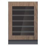 "JENN-AIRPanel-Ready 24"" Built-In Undercounter Wine Cellar - Left Swing"