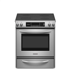 KitchenAid30-Inch 4-Element Electric Slide-In Range, Architect® Series II - Stainless Steel
