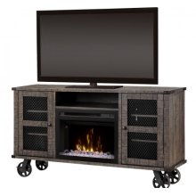 Duncan Media Console Electric Fireplace