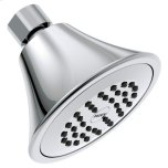 "MoenMoen chrome one-function 3.75"" diameter spray head standard"