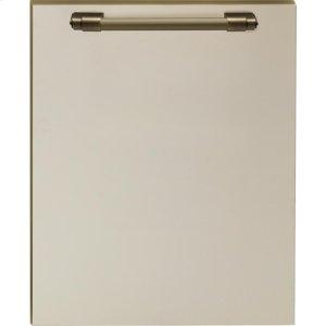 SuperioreDishwasher panel with handle Cream matte, Bronze