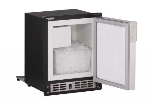 "15"" Marine Crescent Ice Maker White Solid Field Reversible (220-240v)"