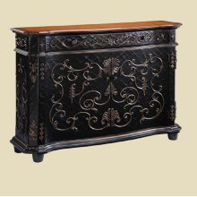 """Chambery"" Crackle Gilded Sideboard"