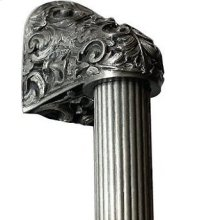 Acanthus - Antique Pewter Fluted Bar