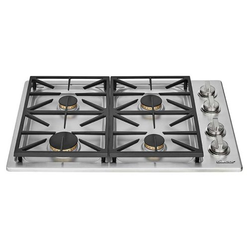 """Heritage 30"""" Dual Gas Cooktop, Natural Gas/High Altitude"""