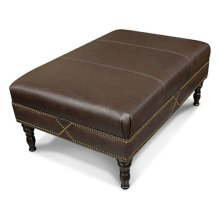 Larae Cocktail Ottoman with Nails 3N07ALN