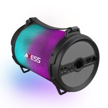 SPBL1046 LED Bluetooth Media Speaker with Wired Mic