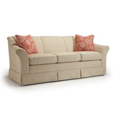 Emeline Collection S90 Stationary Sofa With Skirt