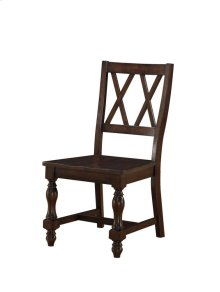 Nottingham Casual Wood Back Side Chair