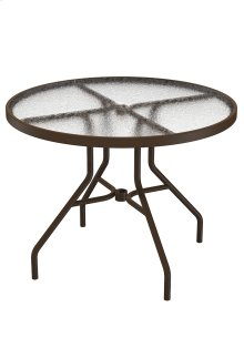 "Acrylic 36"" Round Dining Table"