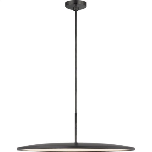 Visual Comfort PB5003MBK Peter Bristol Dot LED 23 inch Matte Black Pendant Ceiling Light