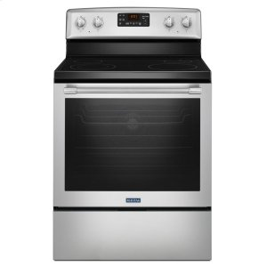 MaytagHERITAGE30-Inch Wide Electric Range with Fan Convection and Max Capacity Rack - 6.4 Cu. Ft.