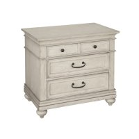 Homestead Three Drawer Night Stand Product Image