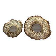 S/2 Asymmetric Gold Mirrors