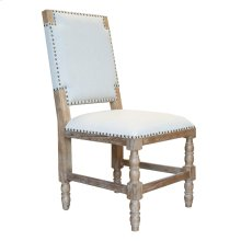 Side Chair, Available in Coastal Brown or Coastal Grey Finish.