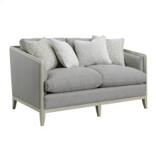 Loveseat W/4 Accent Pillows- Gray #tucker-7