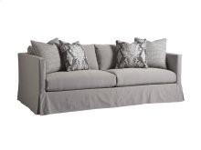 Marina Gray Slipcover Sofa
