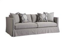 Marina Slipcover Apt Sofa - Gray