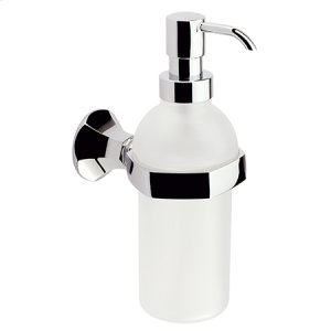 Polished Chrome Soap/Lotion Dispenser