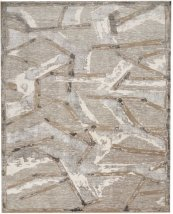 Christopher Guy Wool Collection Cgw16 Silver Rectangle Rug 8' X 10'