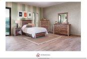 3/3 Complete Bed w/Platform & Rails
