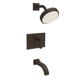 Oil Rubbed Bronze Balanced Pressure Tub & Shower Trim Set