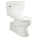 American StandardYorkville Right Height Elongated Pressure Assisted Toilet - White