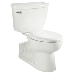 Yorkville Right Height Elongated Pressure Assisted Toilet - White