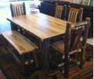 Dark Dining Table Product Image