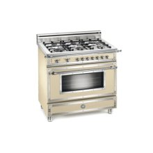 Matt-cream 36 Six-Burner Gas Range