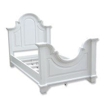 Chesapeake Twin Bed - Wht
