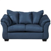 Signature Design by Ashley Darcy Loveseat in Blue Microfiber [FSD-1109LS-BLU-GG]
