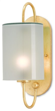 Glacier Gold Wall Sconce