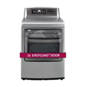 LG Appliances7.3 cu.ft. Ultra Large SteamDryer with EasyLoad Door