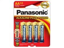 Alkaline Plus Power AA 12-Pack
