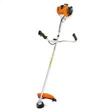 A bike-handle trimmer ideal for challenging cutting locations, like in ditches or around ponds.