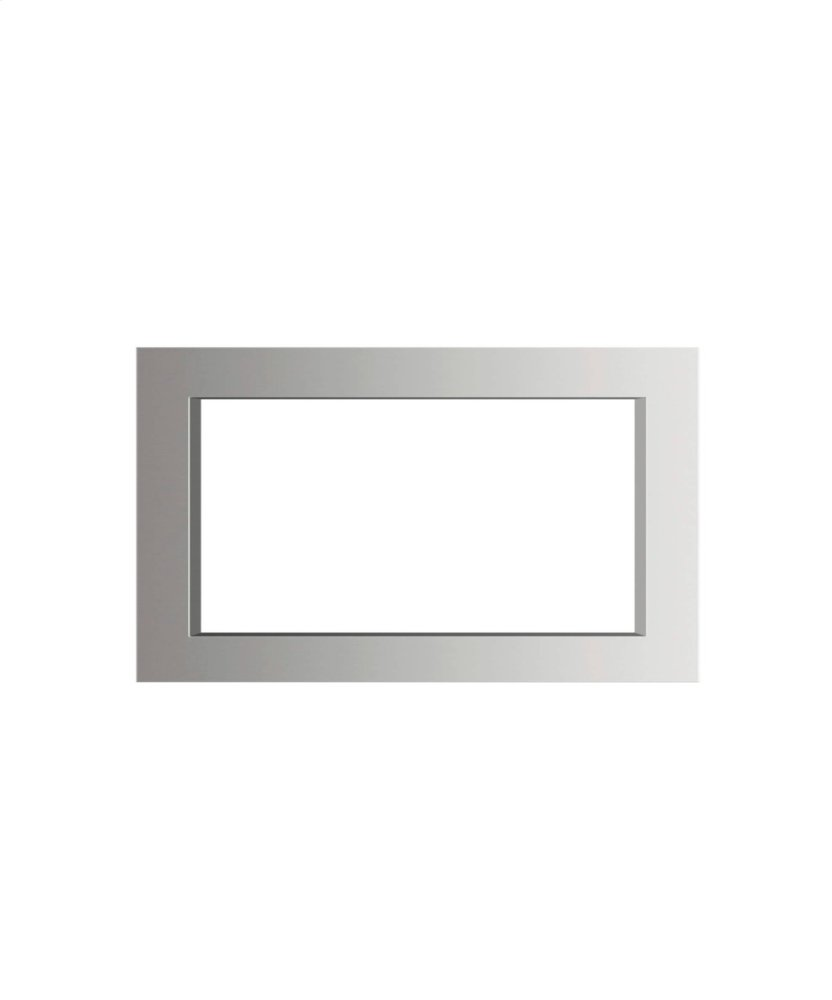 Traditional Microwave Trim Kit  STAINLESS STEEL