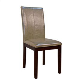 Curved Back Parson Chair-Cshmr