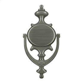 Door Knocker, Imperial - Antique Nickel
