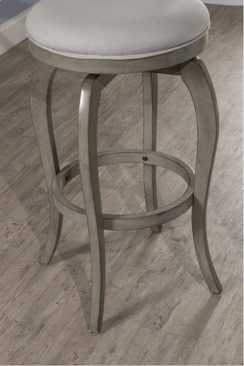 Ellendale Swivel Counter Stool - Aged Gray