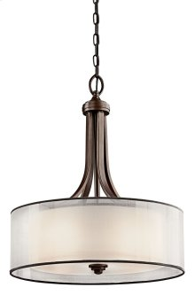 Lacey 4 Light Pendant Mission Bronze