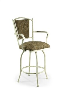 Durham B512H26AS Swivel Back and Arms Bar Stool
