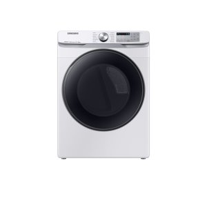 SamsungDV8500 7.5 cu. ft. Smart Electric Dryer with Steam Sanitize+ in White