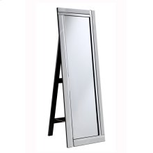 Modern 17.8 in. Contemporary Mirror in Clear